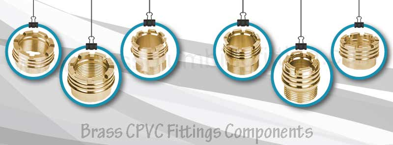 Brass CPVC Fittings Components