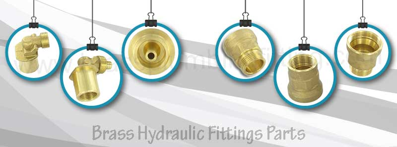Brass Hydraulic Fittings Parts